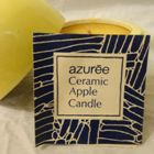 1974, Azuree, CERAMIC APPLE CANDLE