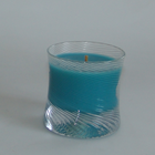 1980, Estée, SNOWSWIRL CANDLE - LARGE