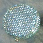 0, KATHRINE BAUMANN - 1 COLOR - LIGHT GREENISH (RHINESTONES ON BOTH SIDES)
