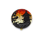 0, KATHRINE BAUMANN - CHINESE SUBJECT - JEWELED PAGODA COMPACT (DESIGN ON BOTH SIDES)