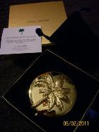 2011, GILDED PALM COMPACT - DESIGNED EXCLUSIVELY FOR THE PRESERVATION FOUNDATION OF PALM BEACH